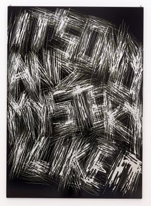 Thierry Furger - Série SGraffito ©Kolly gallery