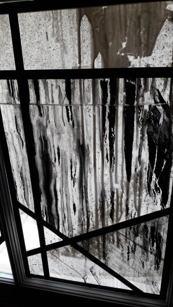 Détail de fenêtre par Lek & Sowat