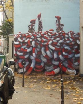 Philippe Hérard Rue de la Mare Paris 20 - 2016