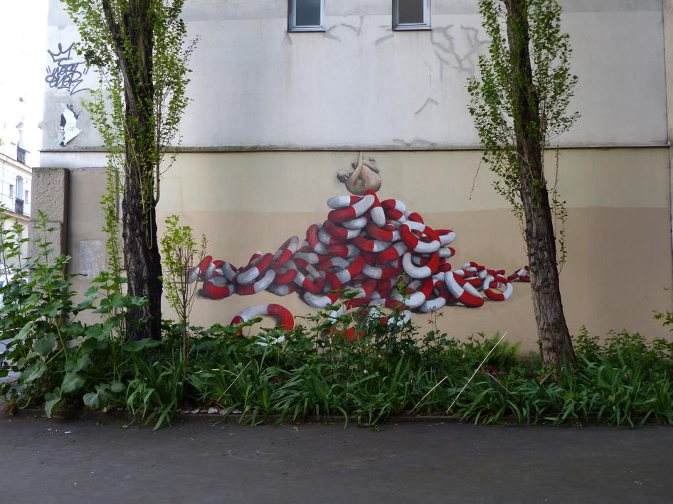 Philippe Hérard rue des Couronnes Paris 20 - 2014