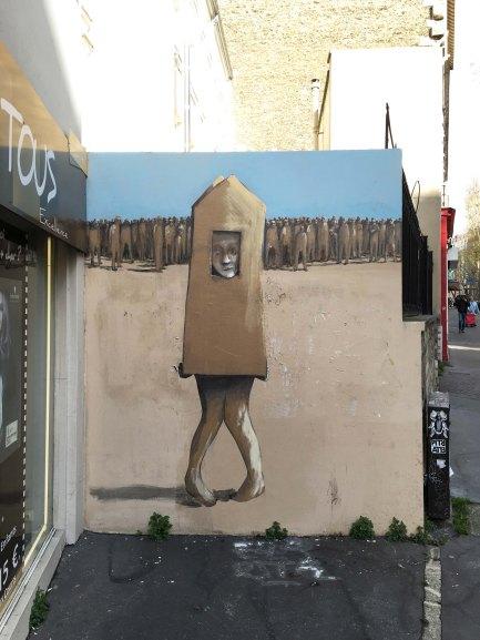 Philippe Hérard rue des Pyrénées Paris 20 - 2016 © T.Benedetti