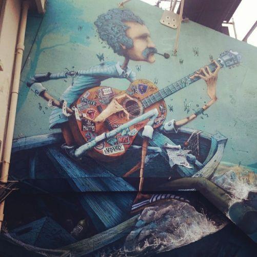 Fresque de Maye au théâtre de la mer ©Streep.fr