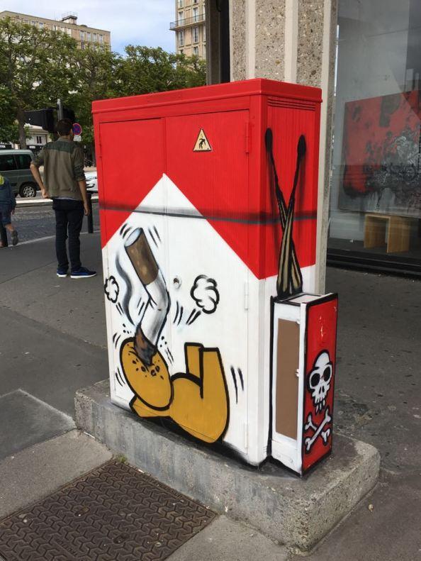 Oeuvre de Jace au Havre ©SDT