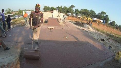 Construction du Skatepark ©RPO
